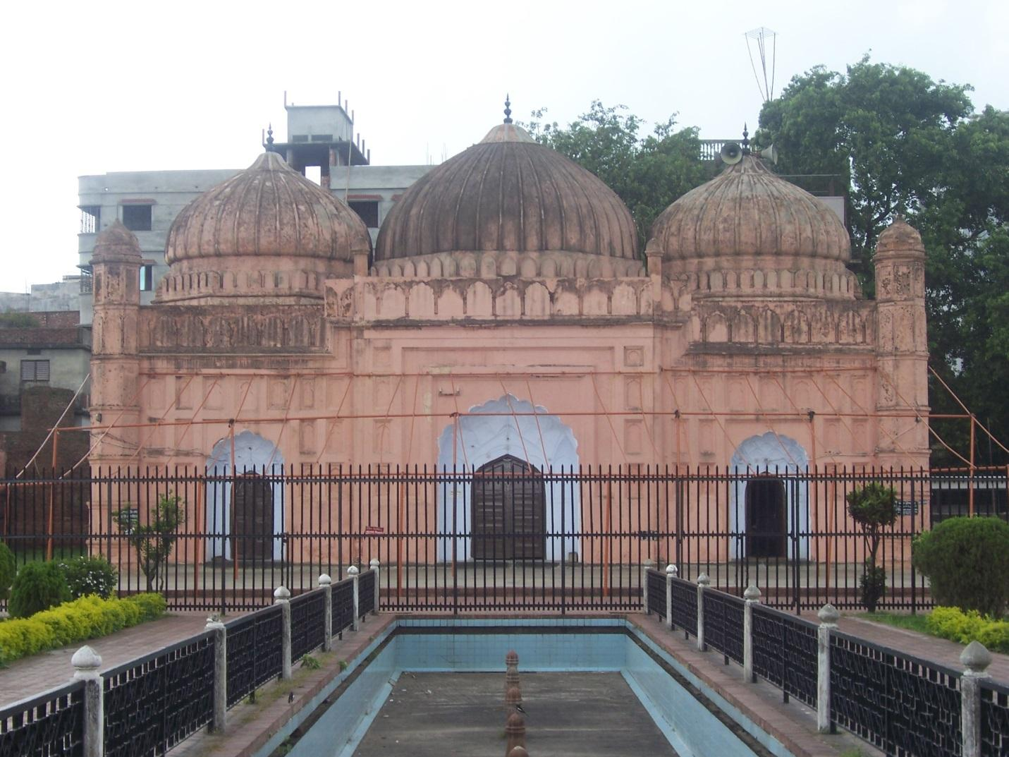 Mosque, Lalbagh Fort, Dhaka, Bangladesh